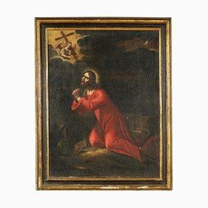 Christus im Garten der Oliven, Öl auf Leinwand