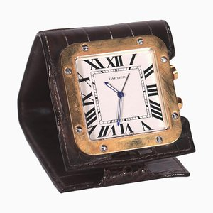 Alarm Travel Desk Cartier Clock