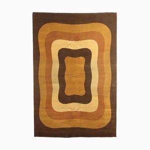 Geometrischer Vintage Teppich