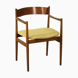 Chair in Stained Beech by Gianfranco Frattini, 1960s