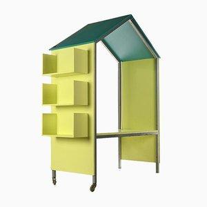 Desk and Storage Lockers from Matali Crasset