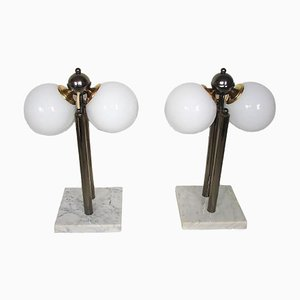 Kabo Table Lamps, 1980s, Set of 2