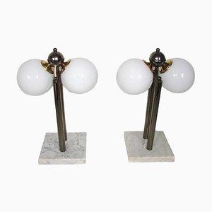Kabo Tischlampen, 1980er, 2er Set