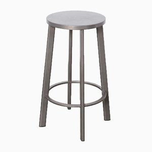 Liverpool HS Bar Stool in Gunmetal from Satellite