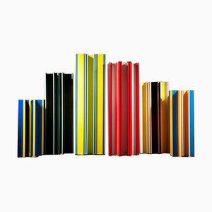 Vasi Piscis in alluminio di Jorge Penadés, set di 6