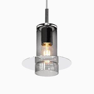Lámpara colgante de vidrio soplado de Eric Willemart