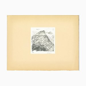 Albert Marquet, Mountain, Original Lithograph, Early 20th Century