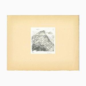 Albert Marquet, Mountain, Originale Lithografie, Frühes 20. Jahrhundert