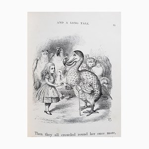 Illustré Sir John Tenniel, Alice's Adventures in Wonderland Illustrated, 1867