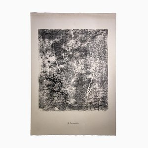 Jean Dubuffet, Mapping, Original Lithograph, 1959