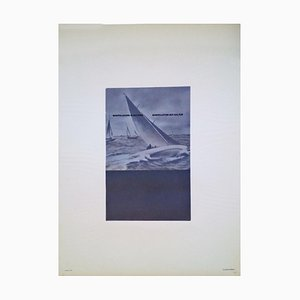 Fabio Mauri, Won Sailing, Original Photolithograph, 1976