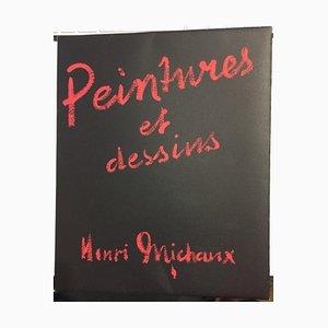 Henry Michaux, Peintures et Dessin, Livre Rare, 1946