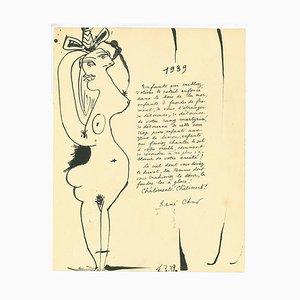 Pablo Picasso, Girl, Original Lithograph, 1939