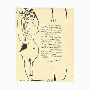 Pablo Picasso, Mädchen, Original Lithographie, 1939