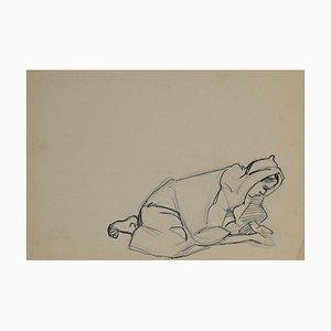 Crayon et Encre Original, Helen Vogt, Maroc, 1930