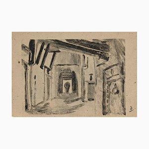 Helen Vogt, Moroccan Houses, Original Monotype, 1929