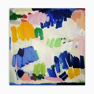 Festa colorata, Pittura astratta, 2020