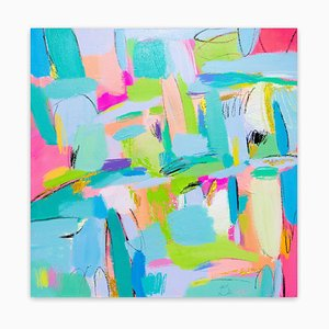 Summer Samba, Abstract Painting, 2020