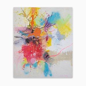 Corona Flowers, Abstrakte Malerei, 2020