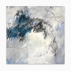 Skyfall, störe den Himmel nicht, abstrakte Malerei, 2020