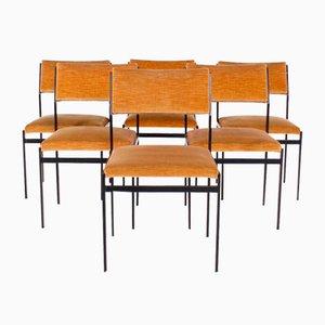 Chaises, Séries Japonaises, par Cees Braakman pour Pastoe, 1960s, Set de 6