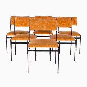 Japanese Series Chairs by Cees Braakman for Pastoe, 1960s, Set of 6