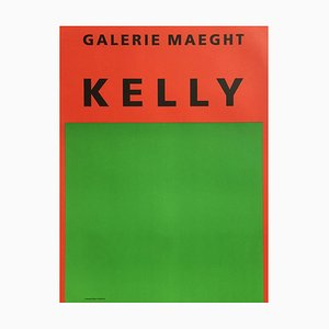 Poster Expo 64 - Galerie Maeght par Ellsworth Kelly
