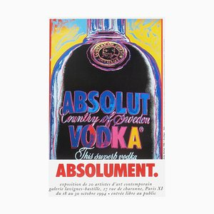 Expo 94 - Galerie Lavignes-Bastille Print by Andy Warhol