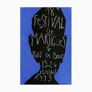 Festival de Martigues Plakat von Jean-Charles Blais