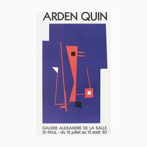 Expo 83, Galerie De La Salle Poster by Carmelo Arden,Quin