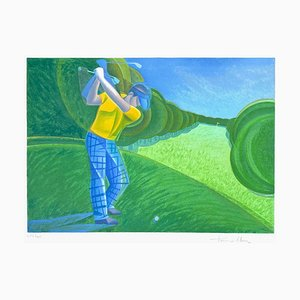 The Golfer by Françoise Persillon