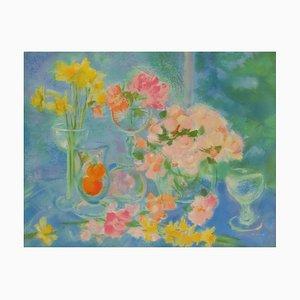 Blumentisch von Michèle Gour