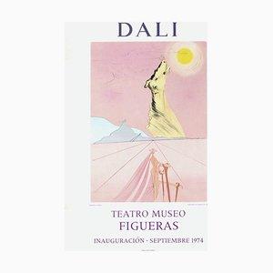 Poster Expo 74, Teatro Museo Figueras Inauguracion 6 par Salvador Dali