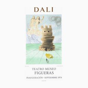 Poster Expo 74, Teatro Museo Figueras Inauguracion 5 par Salvador Dali