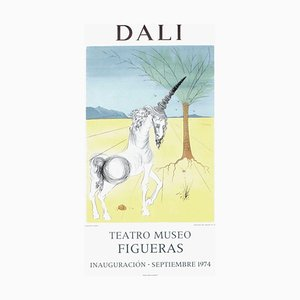 Expo 74, Teatro Museo Figueras 4 Inauguracion Poster von Salvador Dali