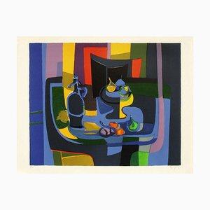Cuenco y trampa Still Life Fruit de Marcel Mouly
