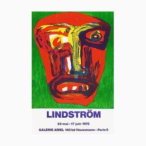 Affiche Expo 78 - Galerie Ariel par Bengt Lindstrom