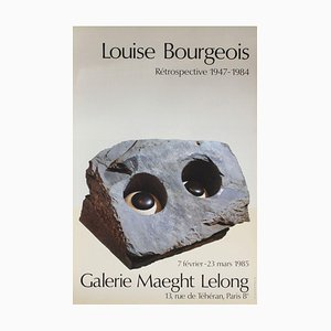 Expo 85 - Galerie Maeght Lelong Poster by Louise Bourgeois