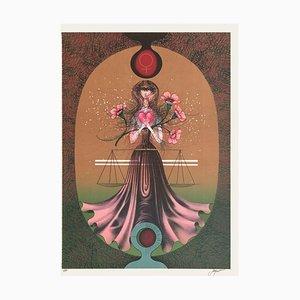 Zodiac, Libra by Pierre Jacquot