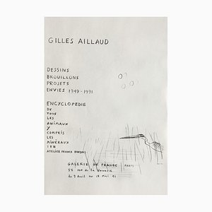 Expo 91, Galerie De France Poster von Gilles Aillaud