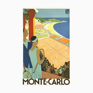 Monte Carlo Print by Roger Broders