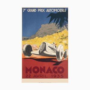 Affiche Monaco Grand Prix 1935 par Geo Ham