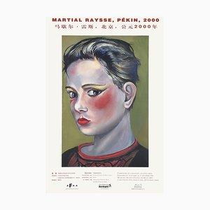 Expo 2000 - Musée de l'Institut Central des Beaux Arts Pékin Print by Martial Raysse
