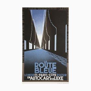 La Route Bleue Print by Adolphe Cassandre