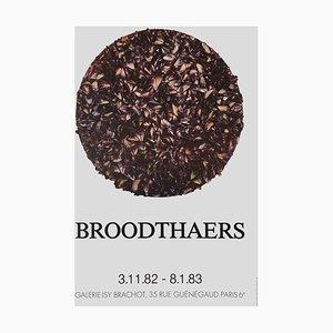 Expo 82, Galerie Isy Brachot Poster von Marcel Broodthaers