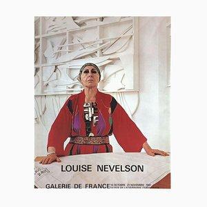 Expo 81, Galerie De France Paris Poster von Louise Nevelson