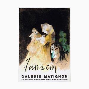 Expo 80, Galerie Matignon by John Jansem