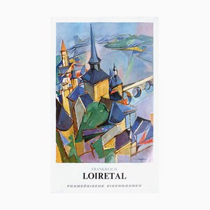 Affiche Sncf - Frankreich Loiretal par Jacques Despierre