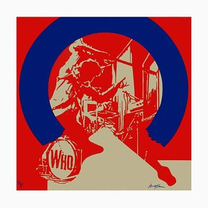 My Generation - The Who Screenprint by Ivan Messac