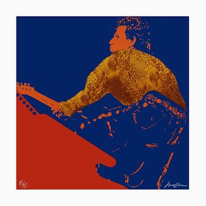 My Generation - Keith Richards Screenprint by Ivan Messac